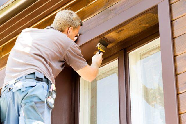 Como pintar los marcos de las ventanas consultar el tiempo