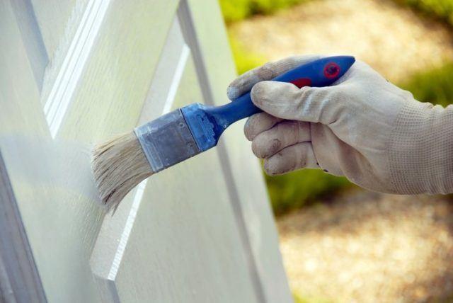 Como pintar marcos de puertas y ventanas