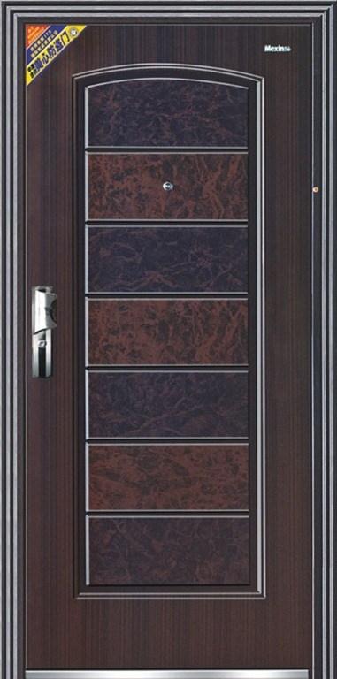 Puertas metalicas for Modelos de puertas de fierro modernas