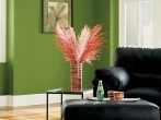 Home-Interior-Paint-Ideas-with-Black-Sofa-Image