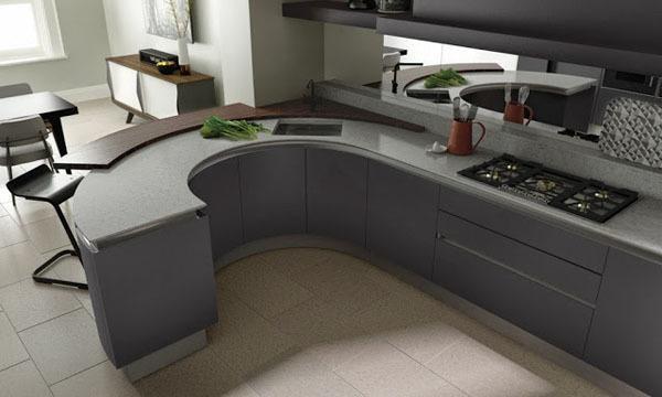 Materiales de Cocina - Cocinas Lacadas - EspacioHogar.com