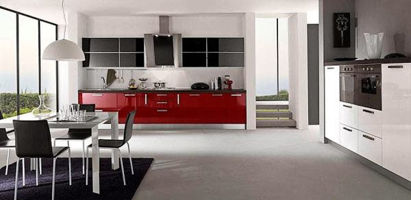 cocinas-lacadas-negra-y-roja