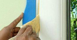 Cómo pintar marcos de puertas y ventanas
