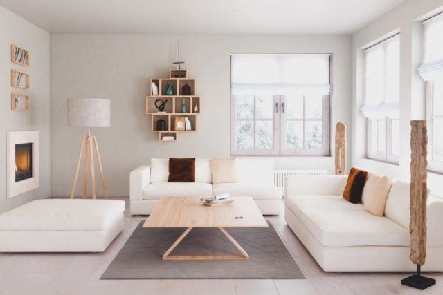 Decoraci n de salones modernos estilo minimalista 50 ideas con fotos - Salon minimalista moderno ...