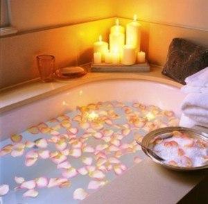decoracion-san-valentin-bañera-petalos