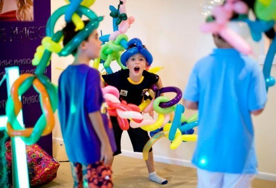 Decoración con globos para fiestas y eventos ...