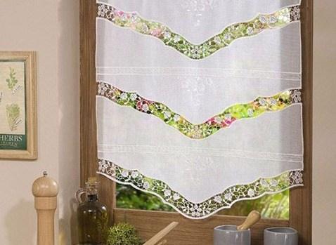 Visillos cocina - Telas rusticas para cortinas ...