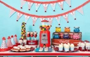 Decoración para cumpleaños infantiles en casa