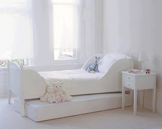 De 100 fotos con ideas de dormitorios blancos 2016 - Habitaciones infantiles en blanco ...