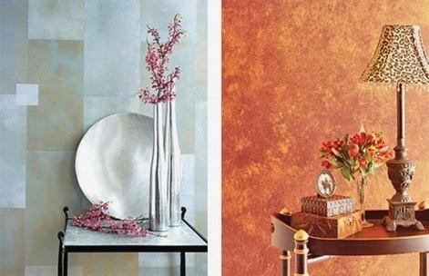 Pintura de efectos - Pinturas para paredes de salon ...