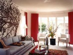 m-design-living-room-grey-sofa-couch-red-drapes-curtains-brown-tree-wall-sticker-decal-african-table