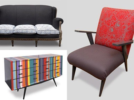 Muebles retro for Sillas vintage segunda mano