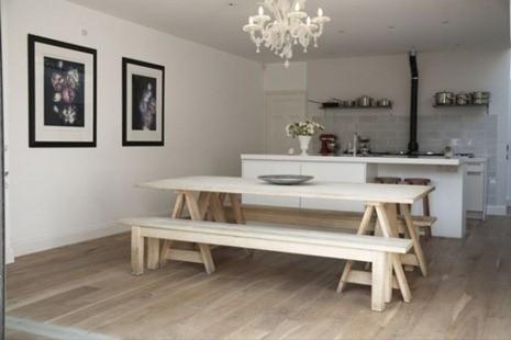 Caballetes mesa - Mesa con caballetes ...