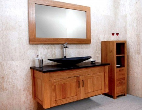 Mueble Madera Baño | Como Elegir Un Mueble De Bano Espaciohogar Com