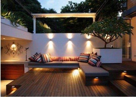 Antimosquitos y bombilla de bajo consumo - Luces de jardin exterior ...