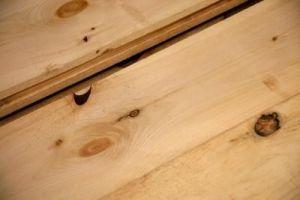 Grietas en la madera - Masilla para madera casera ...