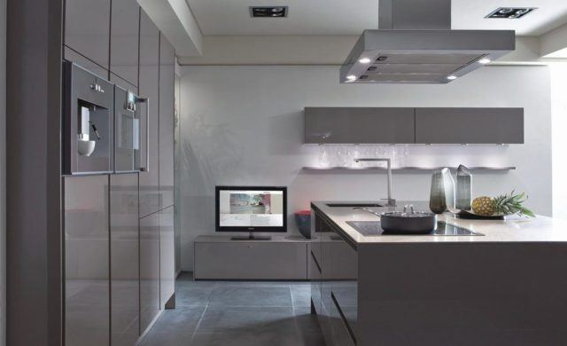 Más de 50 diseños de cocinas minimalistas modernas   espaciohogar.com