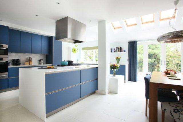 cocinas-minimalistas-modernas-azul