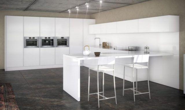 cocinas-minimalistas-modernas-blancas-con-suelo-oscuro