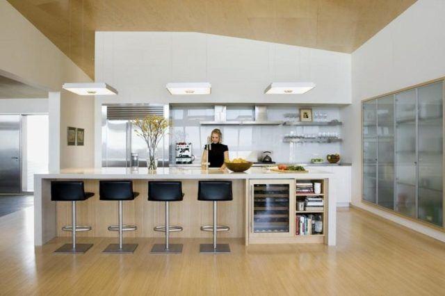 Más de 50 diseños de Cocinas Minimalistas Modernas - EspacioHogar.com