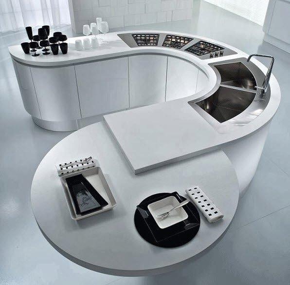 cocinas-minimalistas-modernas-con-isla-espiral