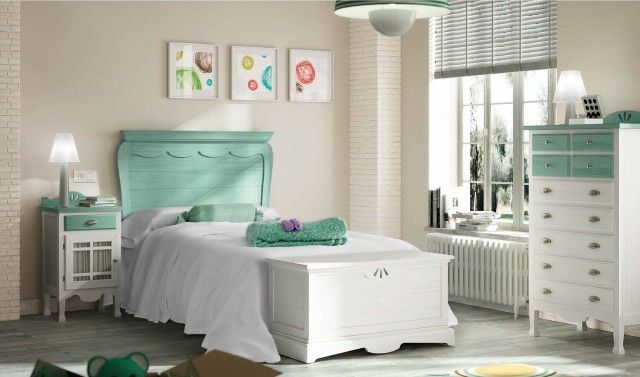 De 100 fotos con ideas de dormitorios blancos 2019 - Dormitorios infantiles blancos ...