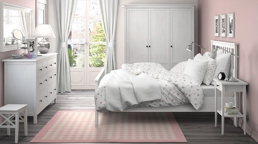 M s de 100 fotos con ideas de dormitorios blancos 2018 for Habitaciones con muebles blancos