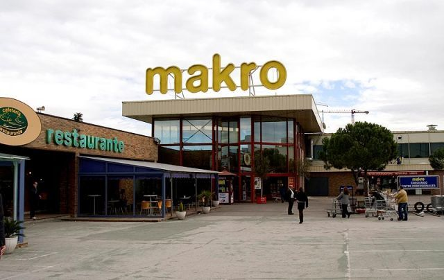 Makro en madrid for Oficinas makro madrid