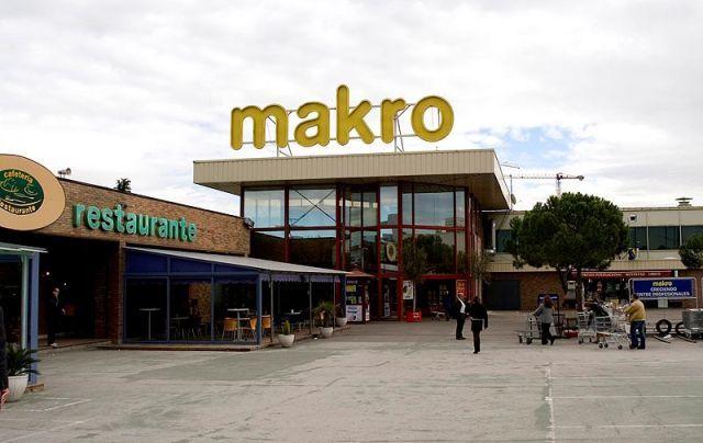 Makro en madrid for Oficinas makro madrid
