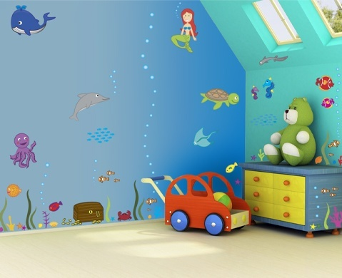 Wall Art for Kids Room Ideas