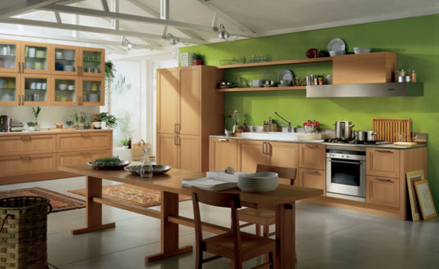 Kitchen Colours In Green Ideas