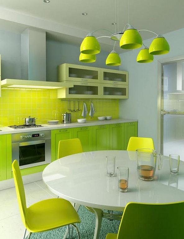 Más De 30 Fotos Con Ideas De Cocinas Verdes