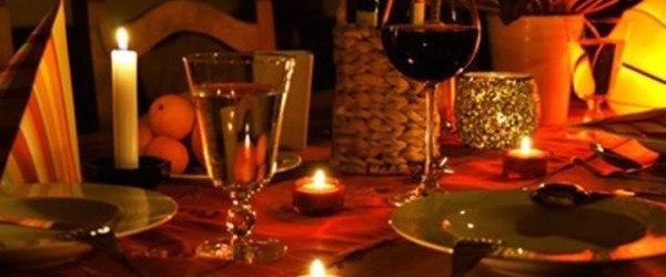 ¿Como dar ambiente de Cena Romántica a una mesa?