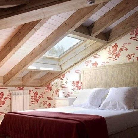 Vigas de techo decorativas - Techos con vigas de madera ...
