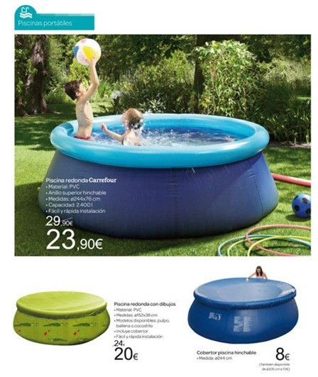 Cat logo carrefour jard n 2012 for Carrefour piscina hinchable