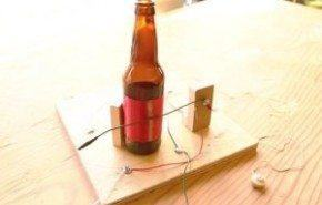 Como construir una radio sin batería con una botella de cristal