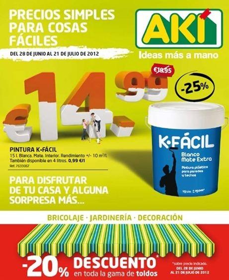 Cat logo aki ofertas de julio 2012 con las ofertas del - Hogarium catalogo de ofertas ...