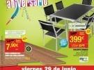 Catálogo Feliz Aniversario Leroy Merlin en Julio de 2012. Días con 20% de descuento