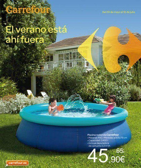 catalogo piscinas carrefour verano 2012 On piscinas pequenas carrefour