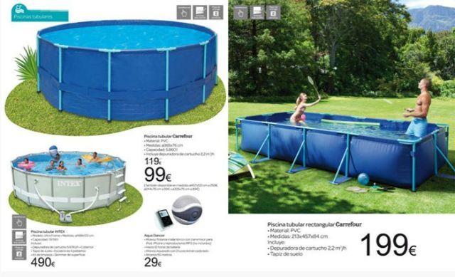 piscinas carrefour piscina redonda hinchable