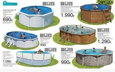 Cat logo de piscinas carrefour verano 2019 - Parches para piscinas desmontables ...