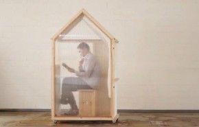 La casa de un metro cuadrado que puedes construir tu mismo