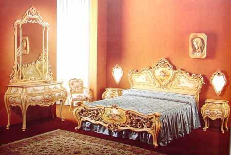 Barroco clasico - Dormitorio barroco ...