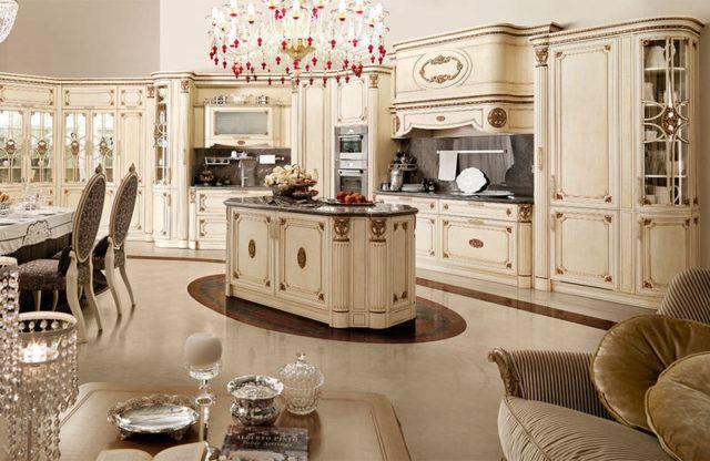 50 cocinas de lujo que os van a enamorar for Cocinas clasicas
