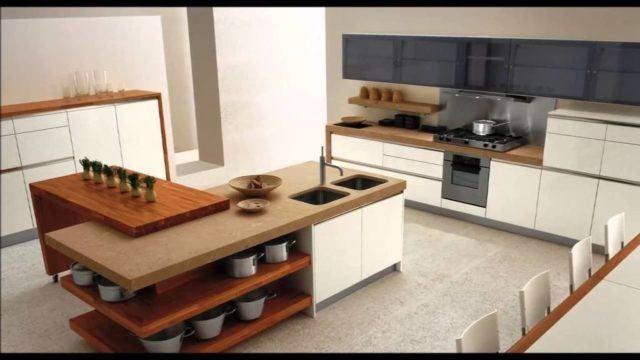 50 cocinas de lujo que os van a enamorar - Cocinas islas modernas ...