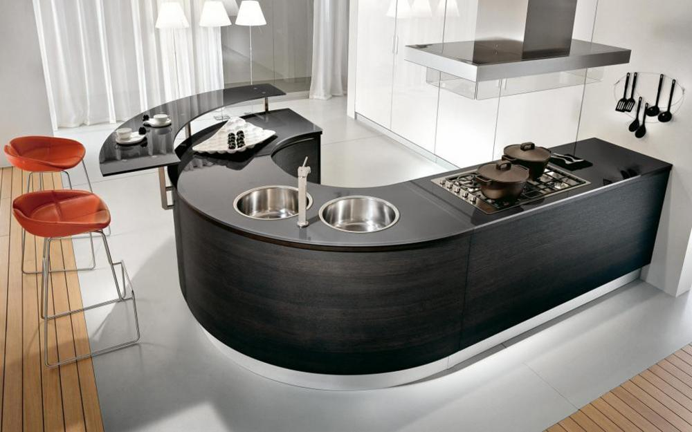 Cocinas de lujo   espaciohogar.com