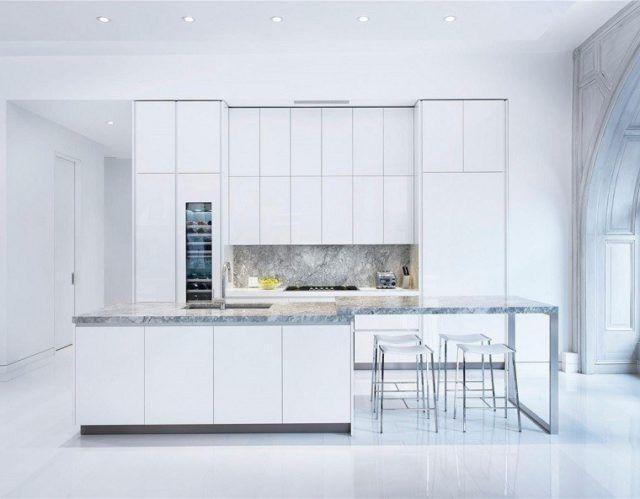 cocinas-de-lujo-modernas-minimalista-blanca-y-granito
