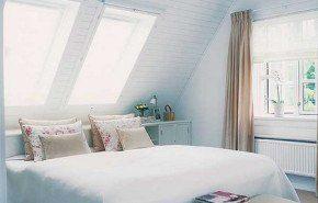 Dormitorios abuhardillados con estilo