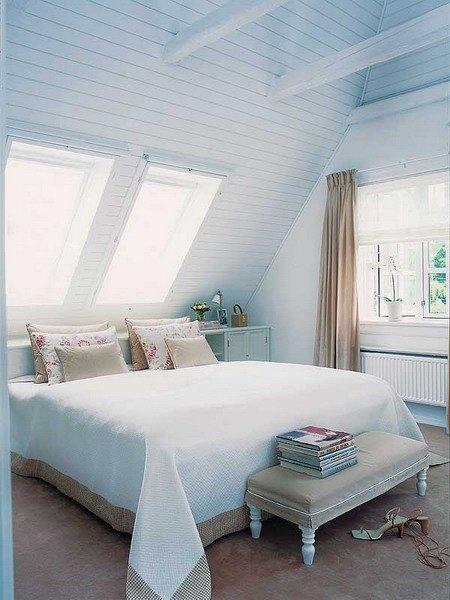 Dormitorios abuhardillados con estilo - Dormitorios con estilo ...
