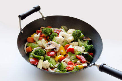 C mo cocinar con wok - Cocinar con wok en vitroceramica ...